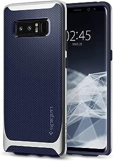 Capa Spigen para Galaxy Note 8, Spigen Neo Hybrid [Mil-Grade][Air Cushion][Dual Layer], Samsung Galaxy Note 8 (2017) (Arctic Silver)