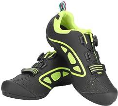 VGEBY1 Calzado de Bicicleta, Zapatos de Bicicleta Antideslizantes Transpirables para Hombres para Ciclismo de Carretera y Ciclismo de montaña