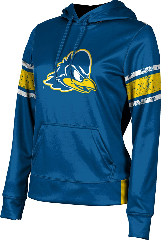 ProSphere University of Delaware Girls' Pullover Hoodie, School Spirit Sweatshirt (End Zone)