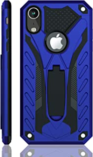 iPhone XR Case | Military Grade | 12ft. Drop Tested Protective Case | Kickstand | Wireless Charging | Compatible with Apple iPhone XR - Blue