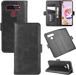 حالات LG For LG K41S / K51S Dual-side Magnetic Buckle Horizontal Flip Leather Case with Holder & Card Slots & Wallet(Black...