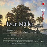 Concertos for Clarinet & Orch by Friederike Roth (2014-06-24)