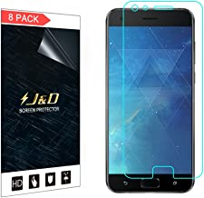 J&D Compatible for 8-Pack ZenFone 4 Pro (ZS551KL) Screen Protector, [Not Full Coverage] Premium HD Clear Film Shield Screen Protector for ASUS ZenFone 4 Pro (ZS551KL) Crystal Clear Screen Protector