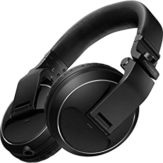 Pioneer Pro DJ, Black, (HDJ-X5-K Professional DJ Headphone)