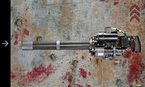 suoni realistici animazioni realistiche molti tipi di mitragliatrici: AK 47, Besa Mitragliatrice, Heckler Koch MP5, M1 Thomson, Mini Gun, RPG Launcher