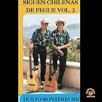 Siguen Chilenas De Pegue, Vol. 3
