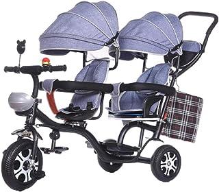 010014037 YUMEIGE triciclos Cochecito de bebé triciclo para niños recién nacido y  niño pequeño - Cochecito de cuna convertible 1-6 años Regalo de cumpleaños  Triciclo ...