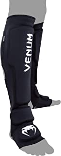 Venum Kontact Evo Shin Guards, Black