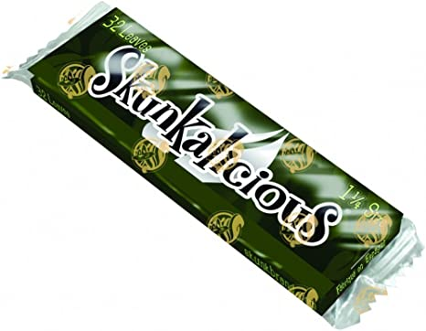 Skunk Brand Sampler Flavored 5 Pack Rolling Papers 1 1//4*1.25