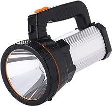 Led-zaklamp, USB-oplaadbaar, handspot, 6000 lumen, 6000 mAh, kan worden gebruikt als powerbank, zaklamp, lantaarn, campin...