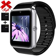Smart Watch for Android Phones with SIM Card Slot Camera, Bluetooth Watch Phone Touchscreen...