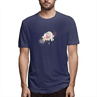 Shirt Garden Roses Name Day Daytime Mother Love Pempe Renkli Gll Iekli Sayfa Siir SS CBC Men's Cotton Casual T-Shirt