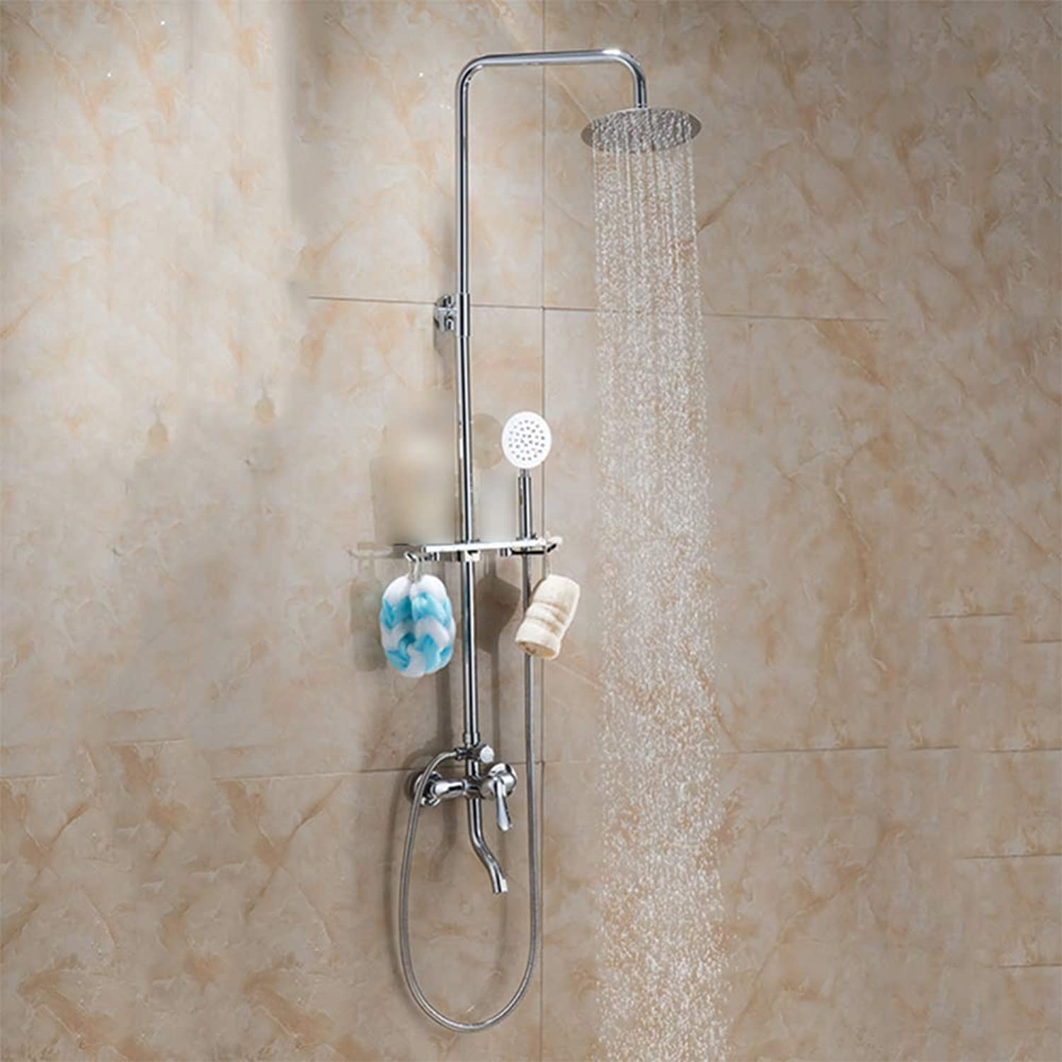 LPW shower set shower shower set multi-function third gear adjustment bathroom shower shower head hand shower wall-mounted shower