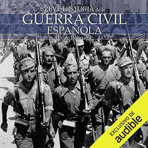 Diseño de la portada del título Breve historia de la Guerra Civil Española