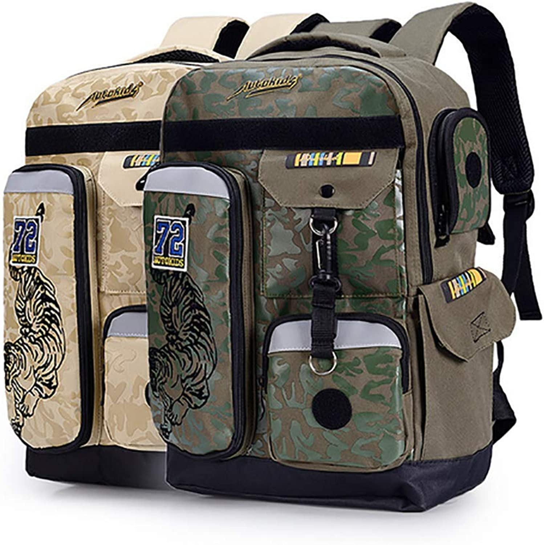 QCC& Super Modern Unisex High Capacity School Backpack Waterproof Camouflage Hiking Rucksack AK6001 20L