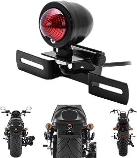 Baoblaze Staffa Supporto Lampada Faro Anteriore Accessorio Moto Bobber Chopper Custom Nero