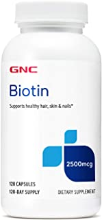 GNC Biotin - 2500 mcg