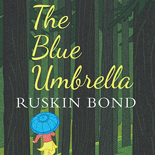 The Blue Umbrella audiobook cover art