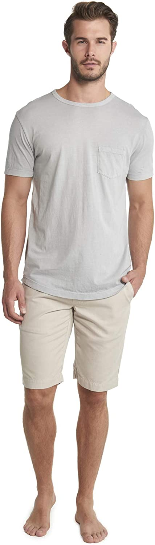 Barefoot Dreams Malibu Collection Men's Short Sleeve Pocket Crew Summer Shirts