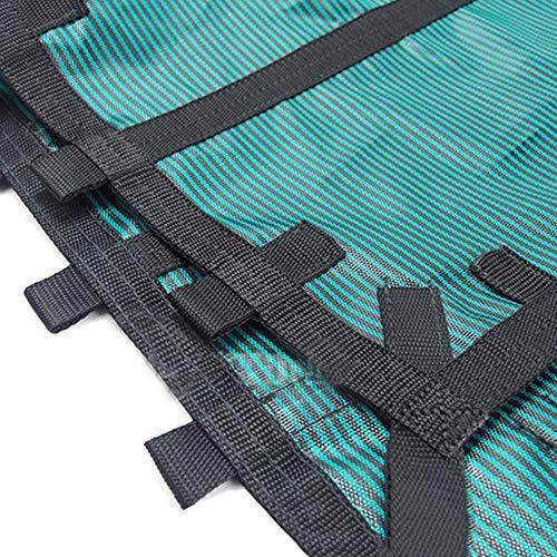 Cubierta para Piscina Cubierta Invernal de Malla en El Suelo para Piscinas, Cubiertas de Seguridad Rectangulares Verdes Sólidas para Piscinas con Ganchos, Fácil Instalación ( Size : 4×5m/13×16.4ft )