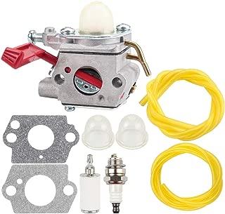 Dxent C1U-H47 Carburetor 984534001 Carb for Homelite K100 K300 K400 ST2527 ST2537S UT-15164 UT-15169 UT-20758 UT-20760 Trimmer with Primer Bulb Fuel Filter Line Kit