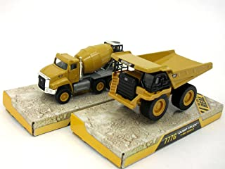 CAT 777G and CT660 (Set of 2 Vehicles) Scale Diecast Metal Models