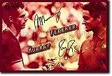 TPCK Andy Murray und Roger Federer Kunstdruck (mit