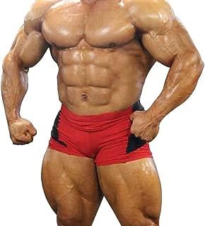 Slimbty Activewear Men's Workout Bodybilding Sports Shorts Gym Leg Days Shorts 90% Polyamide and 10% Lycra