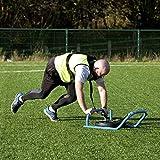 Placa de trineo FH Pro con arnés de hombro acolchado para entrenamiento de fuerza y agilidad