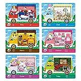 Coltum Paquete de 6 mini tarjetas ACNH NFC para Animal Crossing New Horizons Sanrio para Switch/Switch Lite/New 3DS