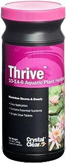 CrystalClear CC017-60 Thrive 10-14-8 Aquatic Plant Fertilizer, 60 Tablet