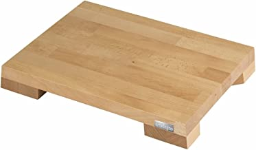 Artelegno Solid Beech Wood Cutting Board with Plate Insets, Luxurious Italian Siena Collection by Master Craftsmen, Ecofri...