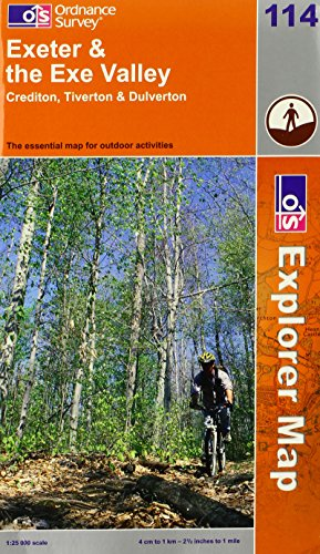 OS Explorer map 114 : Exeter & the Exe Valley