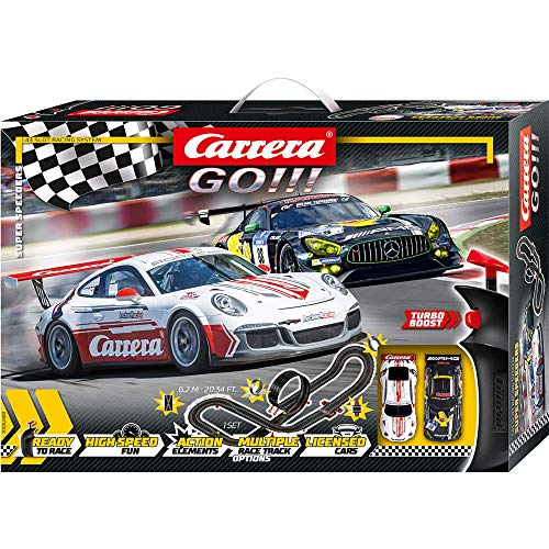 Carrera GO!!! Super Speeders 20062488 Autorennbahn Set