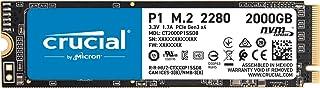 Crucial SSD M.2 2000GB P1シリーズ Type2280 PCIe3.0x4 NVMe 5年保証 正規代理店保証品 CT2000P1SSD8JP