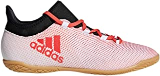 adidas Kid's X Tango 17-3 in Boys Fashion Sneakers Tactile Gold Met/Core Black/SolarRed