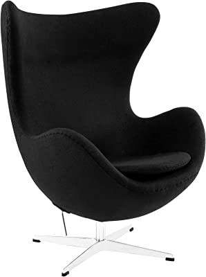 Amazon.com: Hebel Wool Egg Chair with Tilt | Model CCNTCHR ...