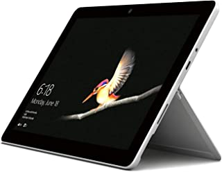 Microsoft Surface Go (MCZ-00006), 2 in 1 Laptop, Intel Pentium Gold-4415Y, 10 Inch, 128GB SSD, 8GB RAM, Intel HD Graphics, Windows 10, Silver [Middle East Version]