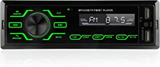 Single Din Car Stereo Receiver with Touch Screen, Car MP3 Multimedia Player USB/SD/AUX Input, Car Audio Bluetooth and Hand... photo