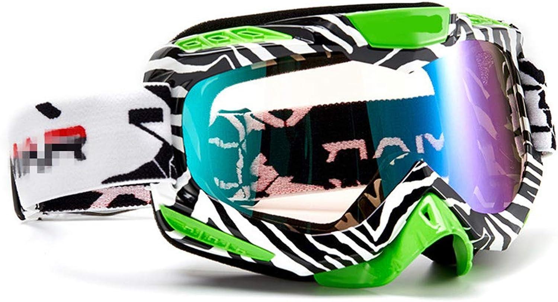 FORTUN Ski Goggles Unisex Outdoor Activity Glasses AntiFog Lens boy and Girl