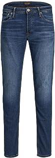 Jack & Jones NOS Men's Jjiglenn Jjoriginal Am 814 Noos Slim Jeans, Blue (Blue Denim), W33/L34 (Manufacturer size: 33)