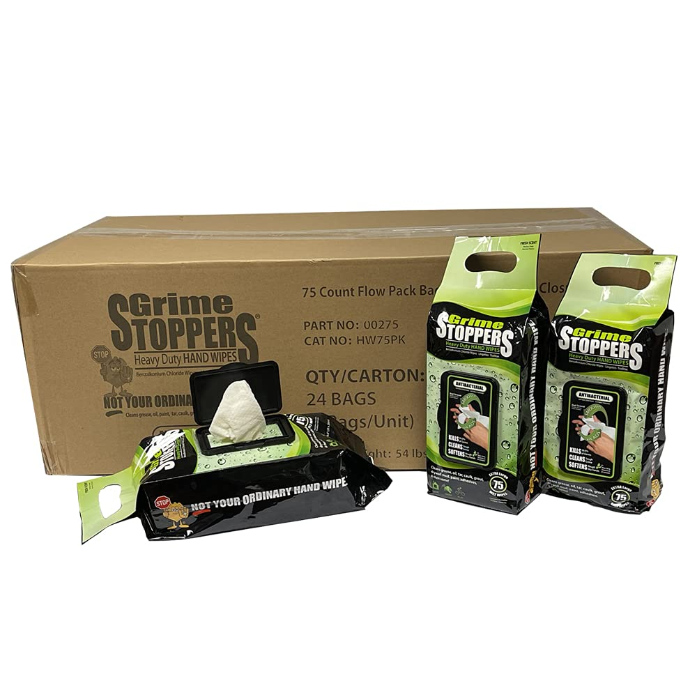Grime Cheap sale STOPPERS Heavy Duty Hand Wipes YOU w In a popularity Beads-NOT Micro-Power