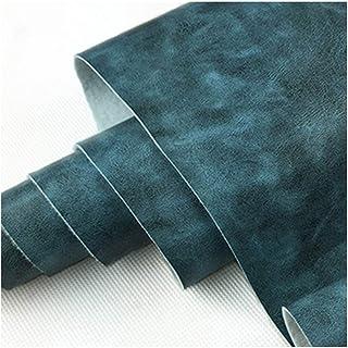 Similicuir Faux Cuir Tissu Canapé Meubles en Cuir PU Simulation Cuir Matériel Rembourrage Artisanat Siège de Voiture , Ble...
