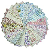 28 Stück 25 cm x 25 cm Top Baumwolle Stoff Bundle Quadrate