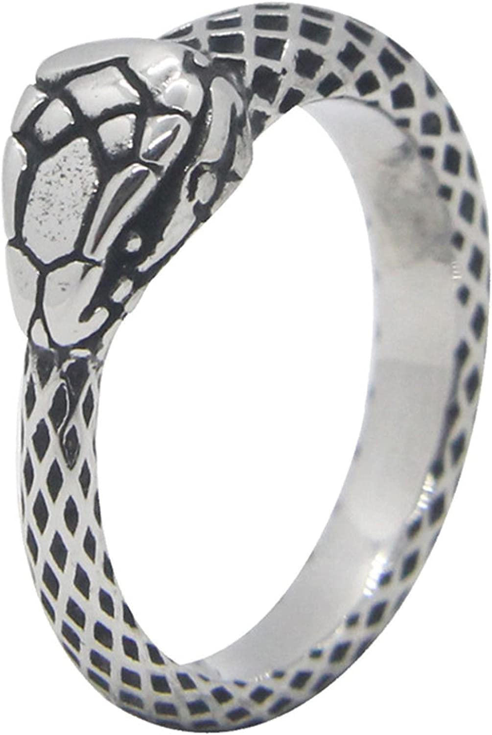 Snake Ring 316L Stainless We OFFer at cheap prices Steel Serpent Jewelry Ranking TOP4 Spirit Cobra