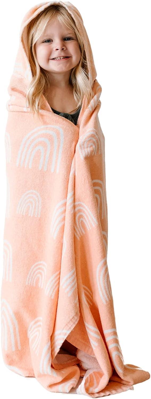 Toddler Hooded Towel - Hooded Beach Towel - Kids Hooded Bath Towel - Towel Poncho - Hooded Towels for Kids - 50