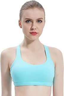 Sports Bras for Women, Comfortable Tops Activewear Fitness Bra with Removable Pads