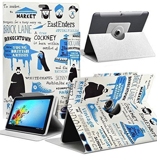 Seluxion MV03 - Funda de protección y soporte universal para tablet Lenovo TAB4 de 10L y 4G de 10 pulgadas, diseño MV03