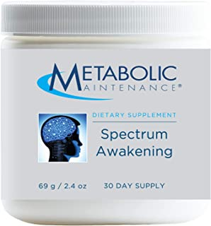 Metabolic Maintenance Spectrum Awakening - Mood, Calm + Focus Support Supplement with Folate, Magnesium, L-Theanine, GABA ...