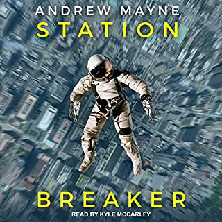 Station Breaker audiobook cover art